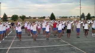Carolina Crown Brass 2012 - Avon Rehearsal