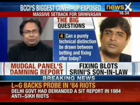 BCCI's biggest cover-up exposed: Gurunath Meiyappan indicted by Mukul Mudgal panel