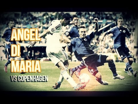 Angel Di Maria Vs Copenhagen Home (02/10/2013) HD 720p