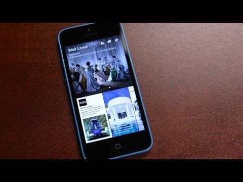 Facebook Paper App Hands-On