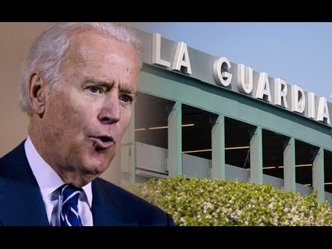 Joe Biden Compares La Guardia to a Third World Country: 'I'm Not Joking!'