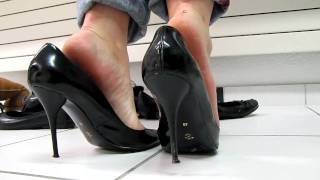 Black Sexy Bagatt High Heels Shoeplay?