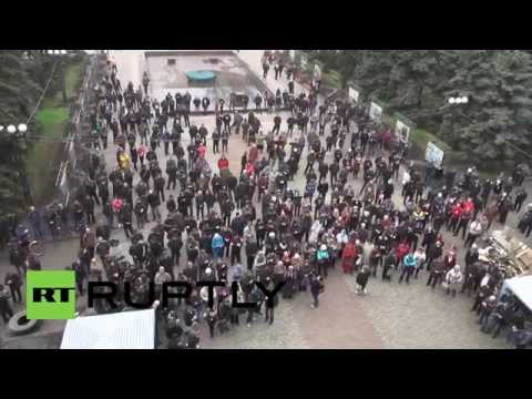 Ukraine: Makeevka activists call for independence
