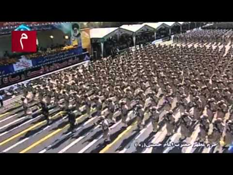 Iran Military Parade during Sacred Defence Week (2013)