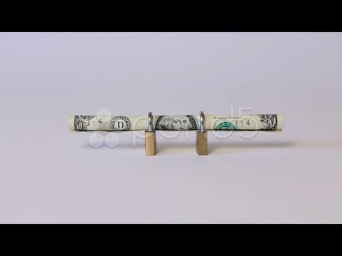 Money dollar bill. Stock Footage