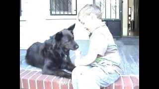 A Boy and His Dog Share an Ice-Cream!
