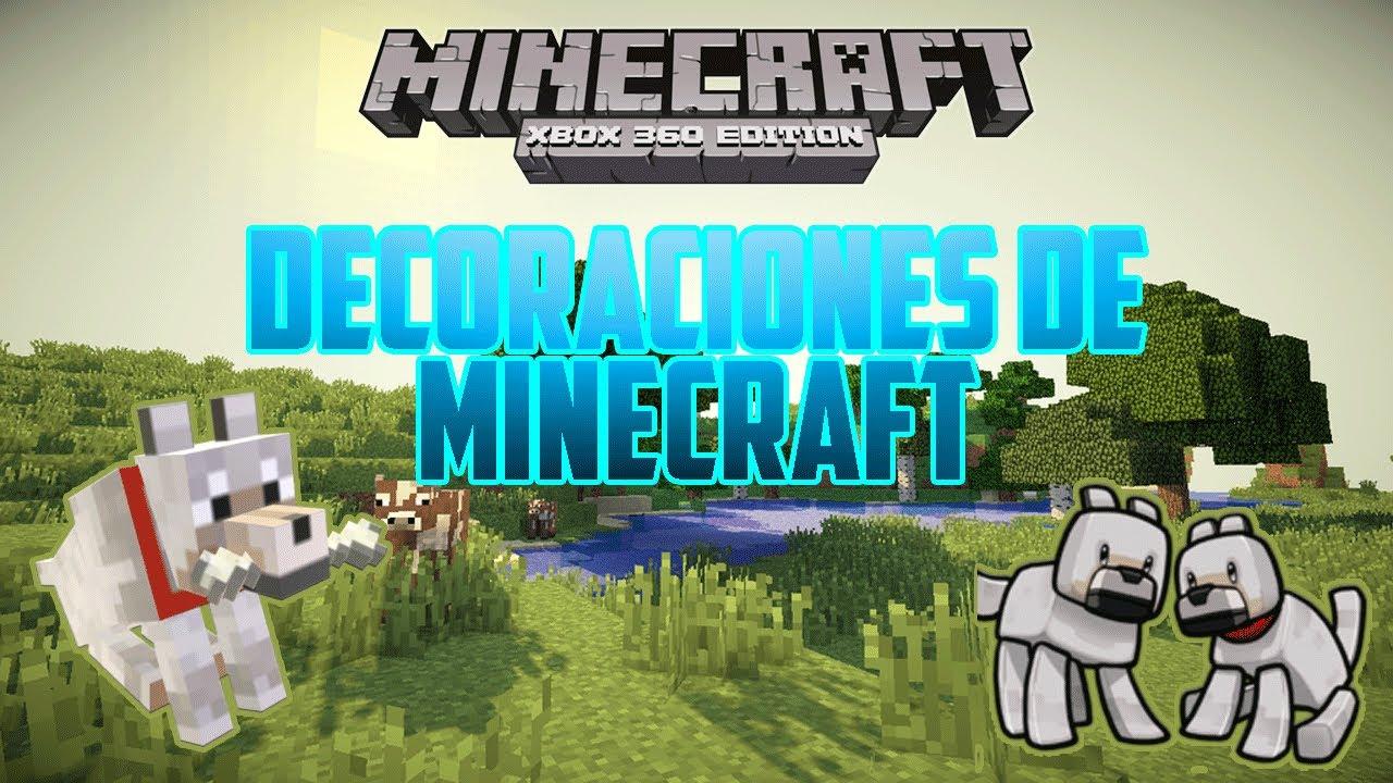 Minecraft xbox 360 decoraci n casa para perritos for Casa moderna minecraft xbox 360