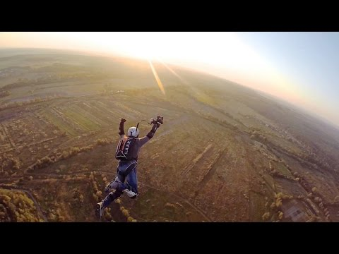 BASE jumping from antenna | Extreme Adventures