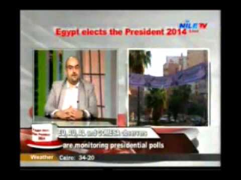 Egypt 2014 Presidential Election impact on International relation