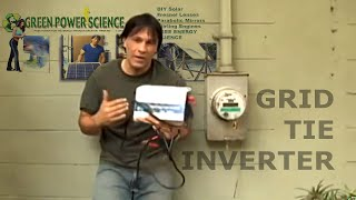 GRID TIE INVERTER SOLAR POWER EASY SOLAR SOLUTION POWER