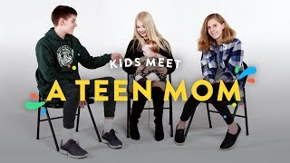 Kids Meet a Teen Mom | Kids Meet | HiHo Kids