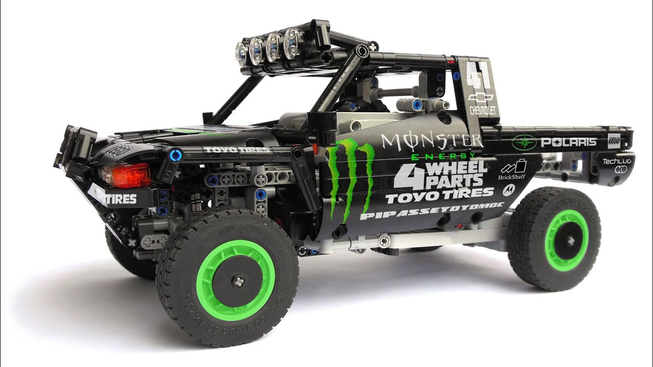 Lego technic trophy truck monster youtube