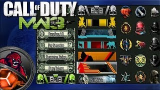 MW3 How To Get All Titles & Emblems (challenges)