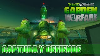 PLANTS VS ZOMBIES GARDEN WARFARE CAPTURA Y DEFIENDE EL