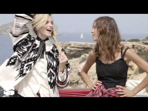 The Trip: with Poppy Delevingne and Alexa Chung | NET-A-PORTER.COM