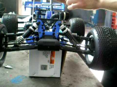 Rodaggio motore auto a scoppio RC motore 21 (3,5) - 28 (4,6) accenni carburazione