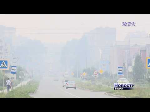 Бердчане встревожены нависшим над городом смогом