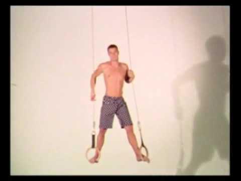 Freddie Stroma is a Gymnast (In underwear)