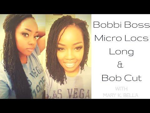 CROCHET || BOBBI BOSS MICRO LOCS & BOB