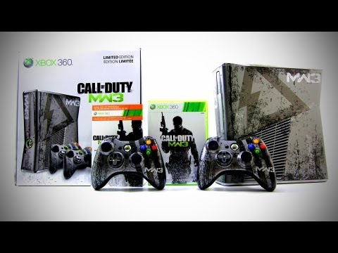 Modern Warfare 3 Xbox 360 Console Unboxing (Limited Edition)