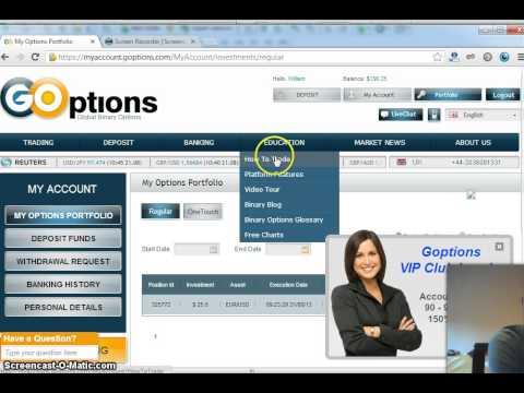 Binary options trading cheat