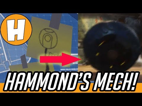 Overwatch - Hammond's MECH / Re-entry Pod Teaser! | Hammeh