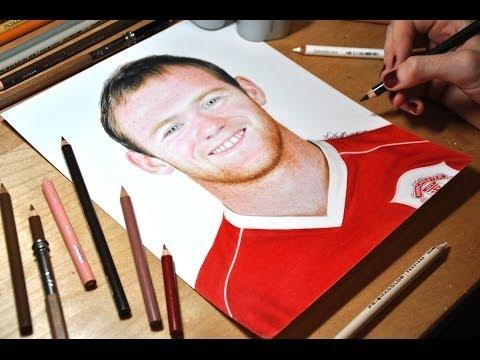 Drawing Wayne Rooney