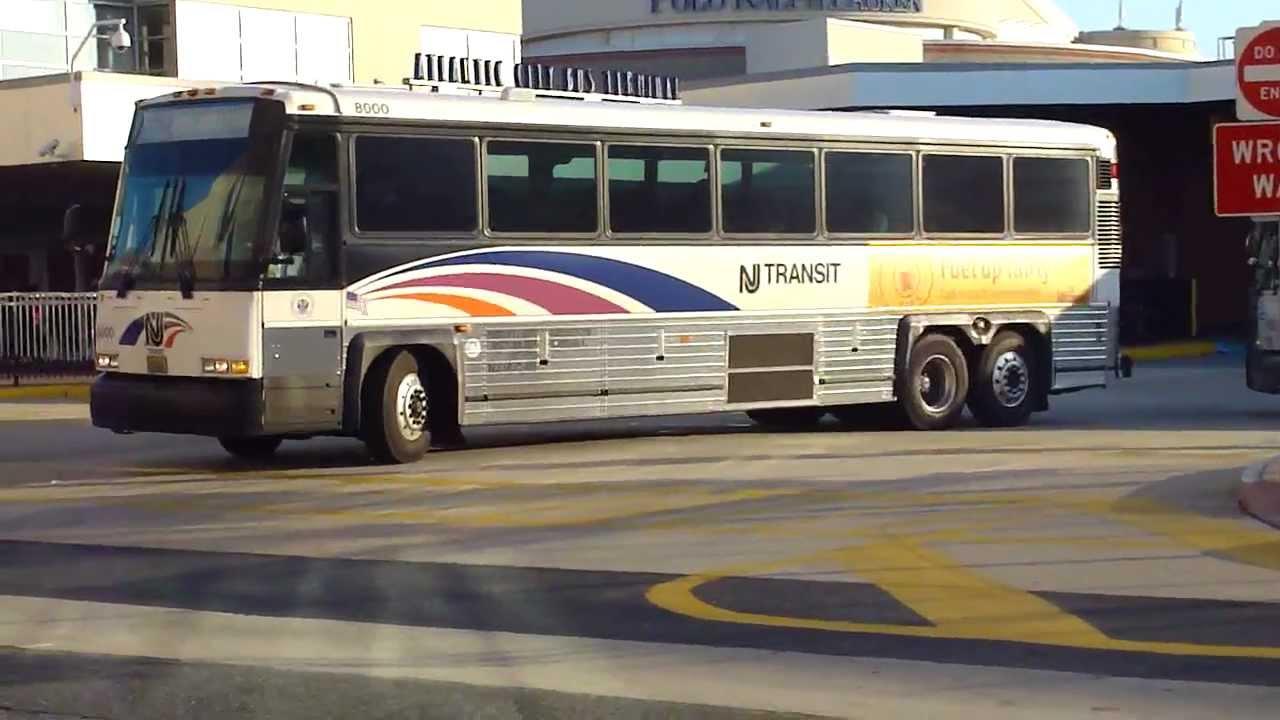 Njt Bus 2000 03 Mci D4000 Routes 551 Amp 553 Express Bus