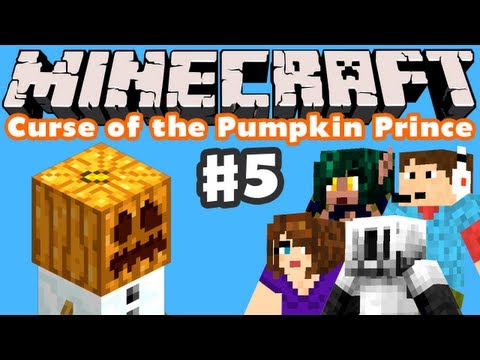Minecraft: Curse of the Pumpkin Prince - Part 5 - Don't Feed the Creepers