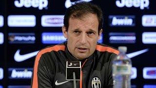 La conferenza di Allegri prima di Juventus-Chievo - Allegri's pre-match Chievo conference