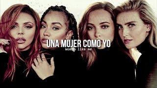 Woman like me • Little Mix, Nicki Minaj | Letra en español / inglés