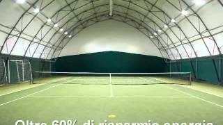 Illuminazione a led per campi da tennis e per lo sport youtube