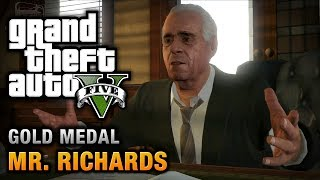 GTA 5 Mission #40 Mr. Richards [100% Gold Medal