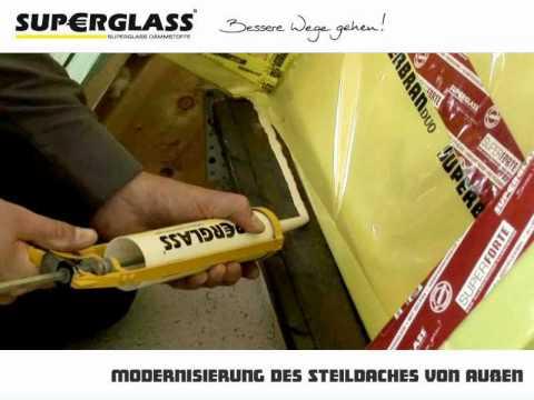 Superglass - Steildach-Modernisierung von aussen