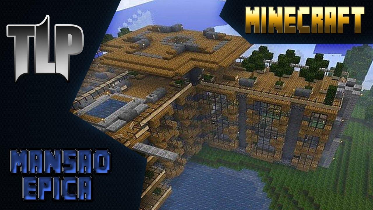 Mansoes No Minecraft