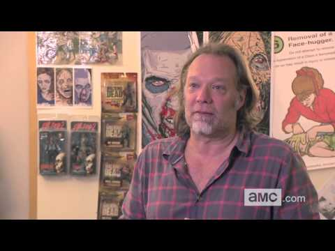 The Walking Dead Season 4 Inside the Walking Dead: Zombie School