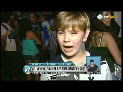 Visión 7 - El nene que quiere ser presidente en 2050