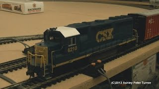 Bachmann EMD GP40-2 Diesel Locomotive CSX 6210 (HO Scale