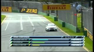 2012 F1 Australian GP - Mercedes Benz C63 Black vs Triple Eight Racing V8 Supercar vs McLaren MP4-26 view on youtube.com tube online.