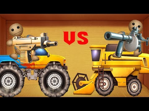 Buddy's war between cars || Funny Momment Kick The Buddy Game Play 888
