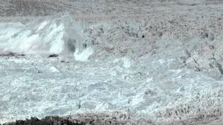 """CHASING ICE"" captures largest glacier calving ever filmed – OFFICIAL VIDEO"