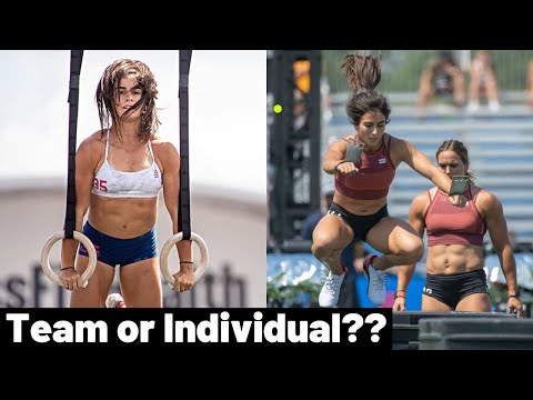 Lauren Fisher -  2021 CrossFit Games TEAM OR INDIVIDUAL??