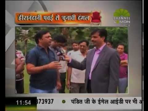Syed Salman- Chunavi Dangal on Lemon News with Intellectuals from Hiranandani Powai on 18 04 2014