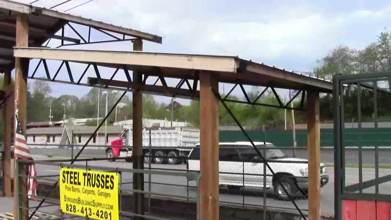 Metal barn trusses joy studio design gallery best design for Pre built roof trusses