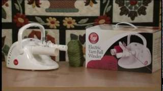 Instructions For Using The Boye Electric Yarn Ball Winder