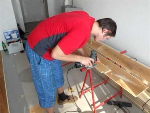Vyrovnání dřevěné podlahy