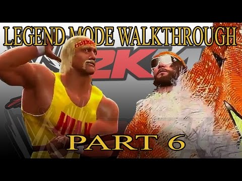Hulk Hogan vs Randy Savage - 30 Years of WrestleMania Walkthrough WWE 2K14 Part 6