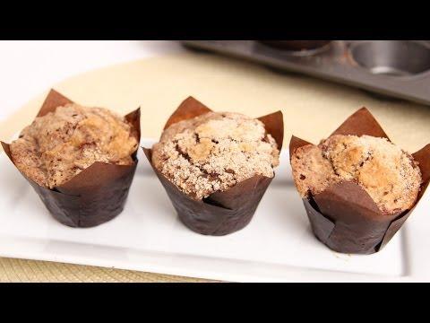 Chocolate Crumb Cake Muffins Recipe