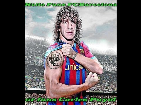 The 10 best moments of career Carles Puyol