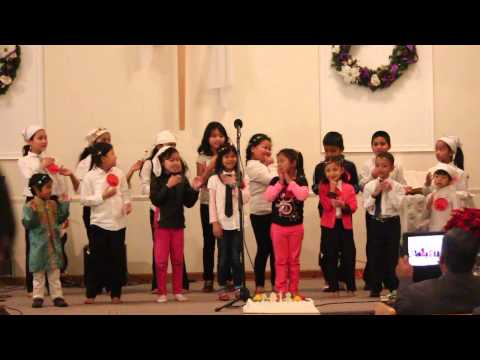 Bhutanese-Nepali Christian Community Church. Action Song By Children Group [HD]